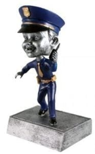 Policeman Bobble Head